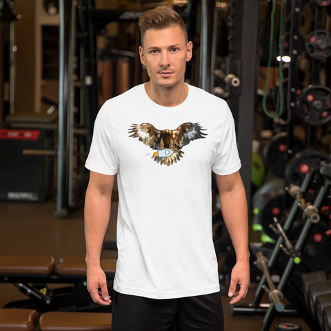 Stellar Bald Eagle Short-Sleeve T-Shirt
