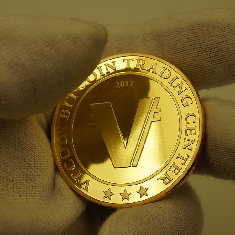 24K Gold Plated Vertcoin Commemorative Coin