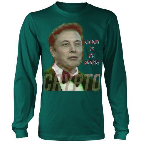 Elon Musk | Bitcoin Is The Future Long Sleeve