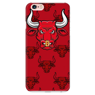 iPhone 6 Plus, 6s Plus Red Bitcoin Bull Phone Case