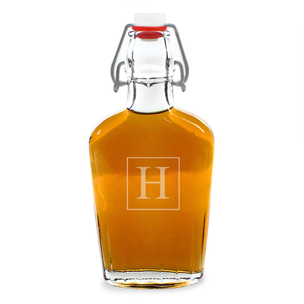 Personalized Glass Flask Cruet