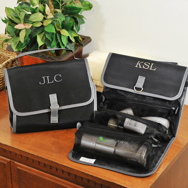 Personalized Men's Micro Fiber Toiletry Bag