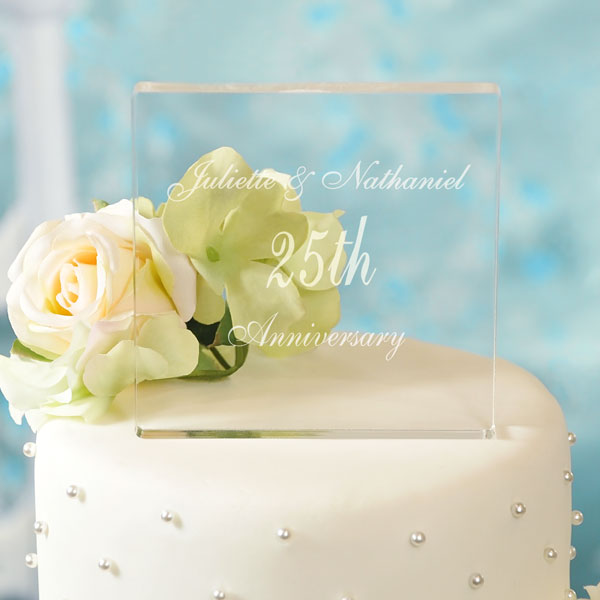 Personalized Celebration Cake Topper