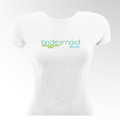 Lovely Lime Bridesmaid TShirt