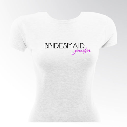 Signature 21 Bridesmaid TShirt