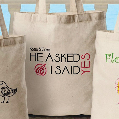 Bride - Canvas Tote
