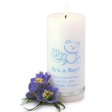 It's A Boy Candle