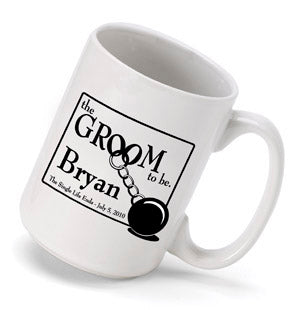 Personalized Groom to Be Coffee Mug