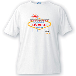 Vegas Bachelor Party Groomsman T-shirt
