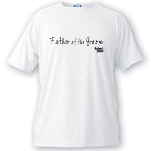 Script Series Father of the Groom T-shirt