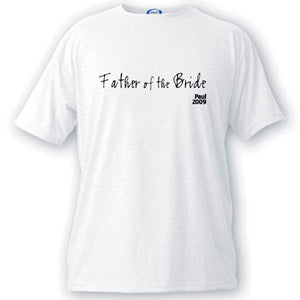 Script Series Father of the Bride T-shirt