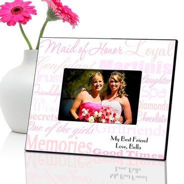 Maid of Honor Frame - Shades of Pink