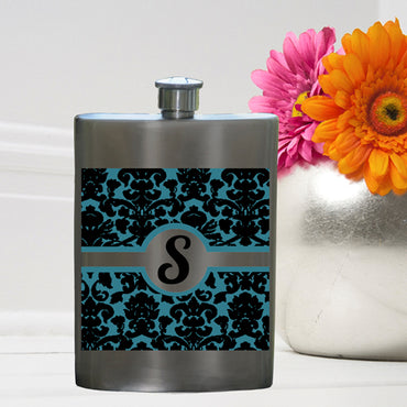 Party Girl Flask - Damask Flask