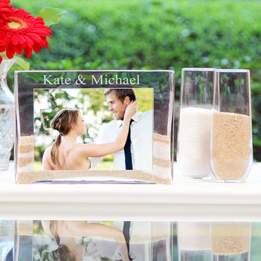Sand Ceremony Photo Vase Unity Set