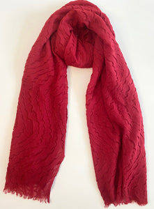 red ripple hijab