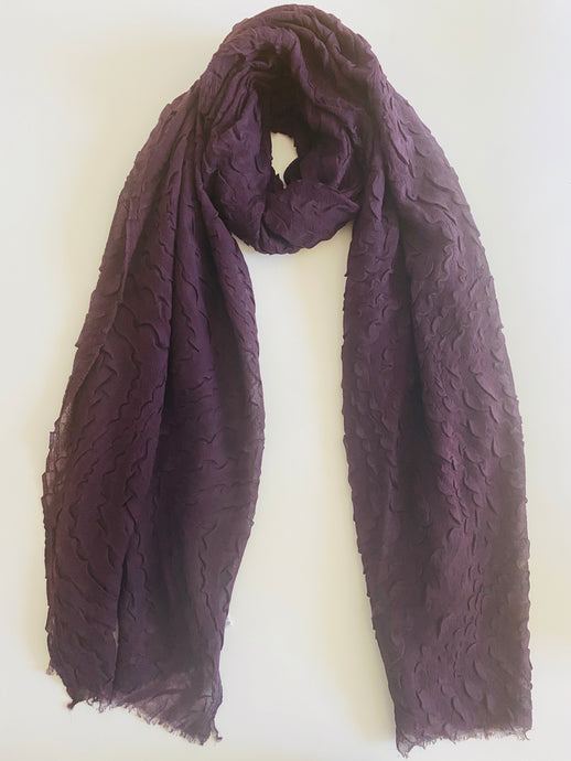 Plum Ripple Hijab