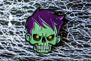 Zomboy Pin - Straight Outta The Coffin