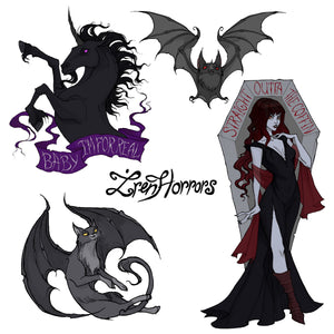 Sticker Pack - Iren Horrors