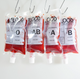Blood Bag Plastic Flasks