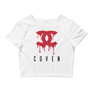 Coven Crop Top - Straight Outta The Coffin