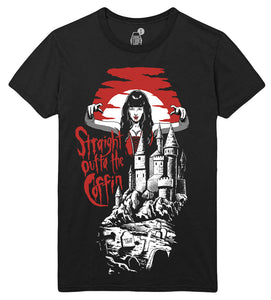 Brams Castle Unisex T-Shirt - Straight Outta The Coffin