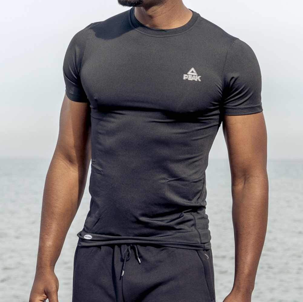 PEAK MENS COMPRESSION TEE