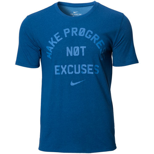 Nike Make Progress Not Excuses t shirt