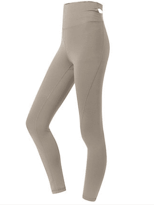 Sloli Stretch Material Hip Up Yoga Leggings XS / Beige