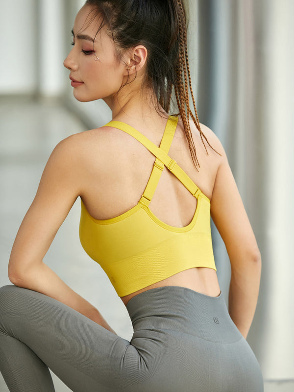 Sloli Fashion Front Opening Sports Bra