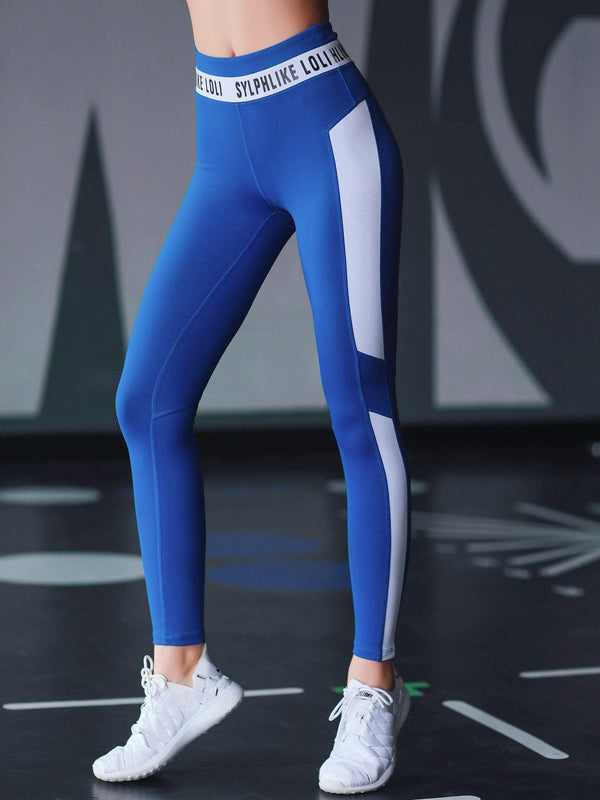 Sloli Elatic High Waist Sports Leggings for Training