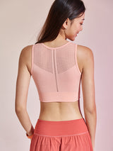 Sloli Breathable Back Mesh Sports Bra