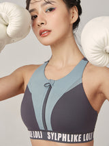 Sloli Color Mix Stylish Sports Bra