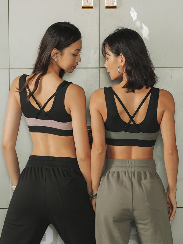 Sloli Color Scheme Sports Bra for High Intensity Training