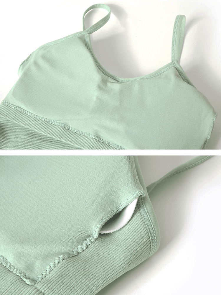 Sloli Breathable Camisole Bra Sports Vest 6 Colors Available