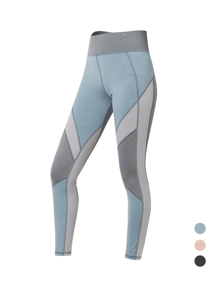 Sloli Color Scheme Sports Fitness Leggings XS / Blue