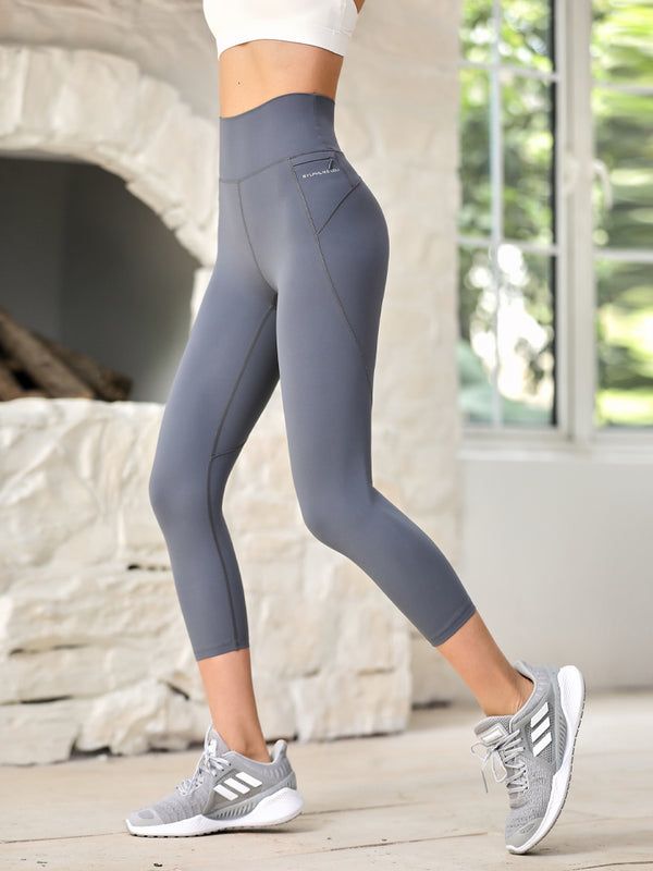 Sloli Quick Dry Running Cropped Legging