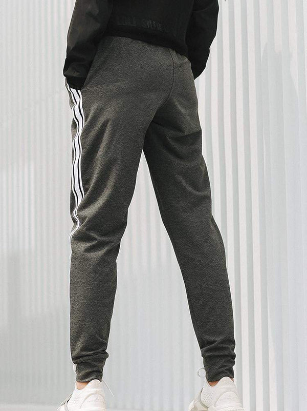Sloli Casual Running Pants with Drawstring&Pocket