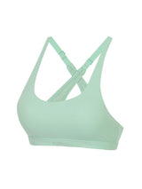Sloli Basic Back Crossing Sports Bra XS / green