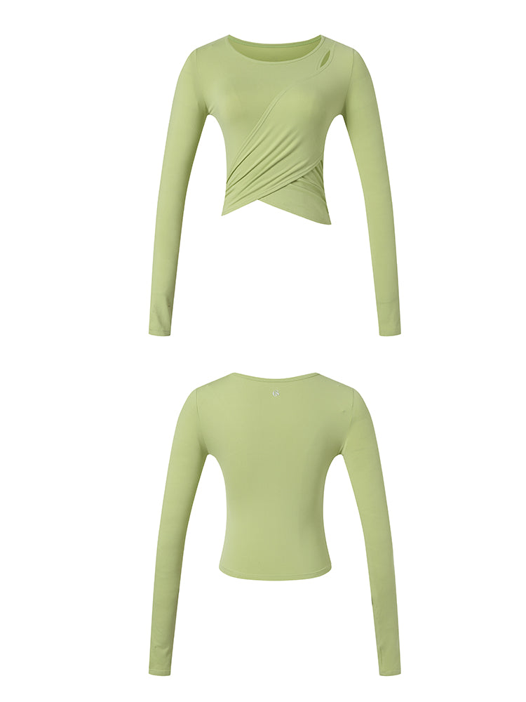 Sloli Long Sleeve Yoga/Sports Shirt