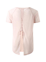 Sloli Beautiful Back Design Shirt XS / Pink