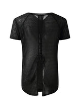 Sloli Beautiful Back Design Shirt XS / Black