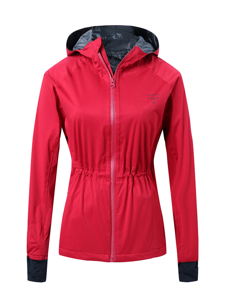 Sloli Wind&Rain Proof Long Jacket S / Red