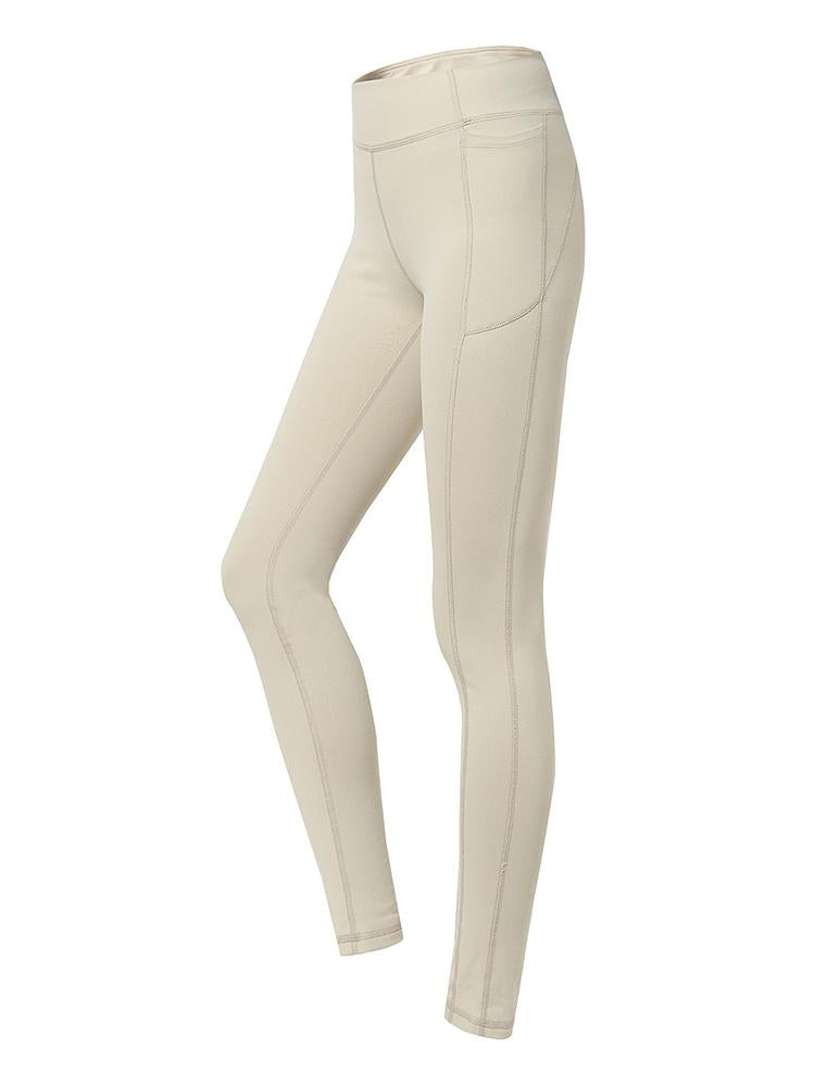 Sloli Hip Up Leggings with Pocket XS / Silver