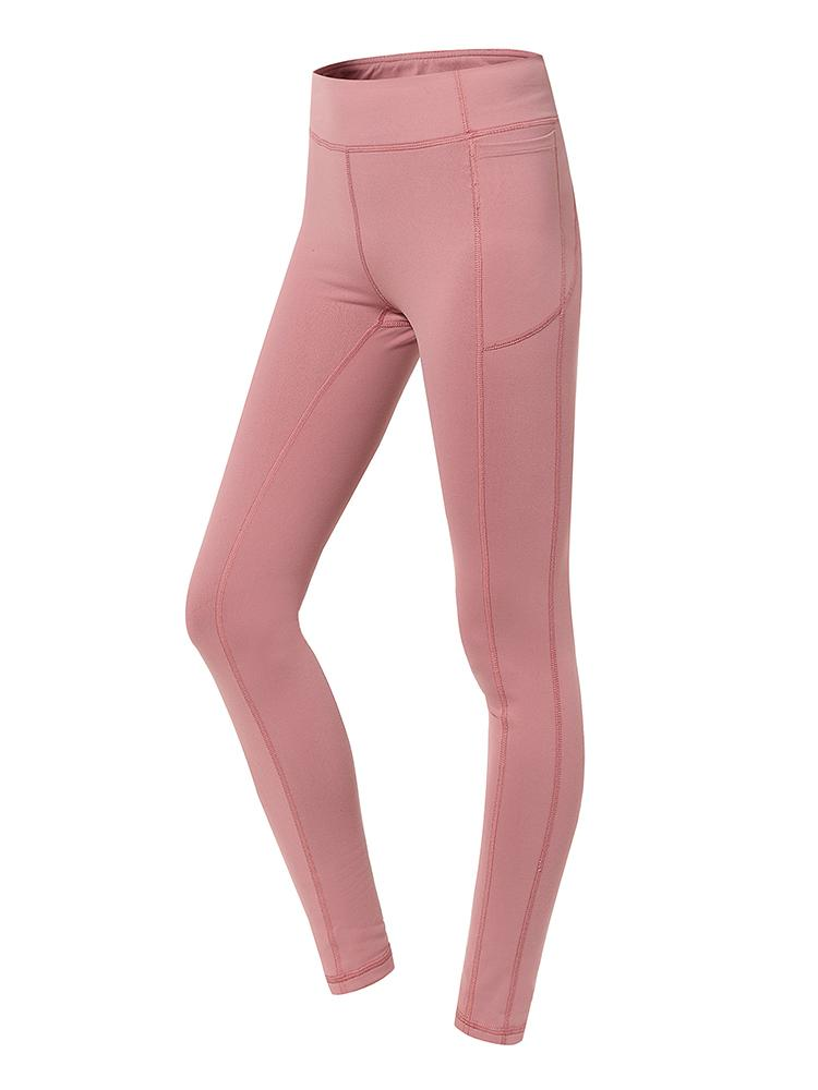 Sloli Hip Up Leggings with Pocket XS / Pink