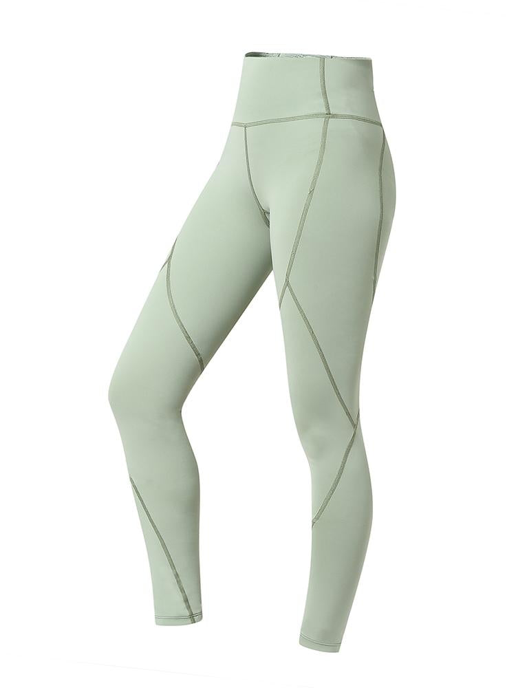 Sloli Hip Up Sports Training Tights XS / Green