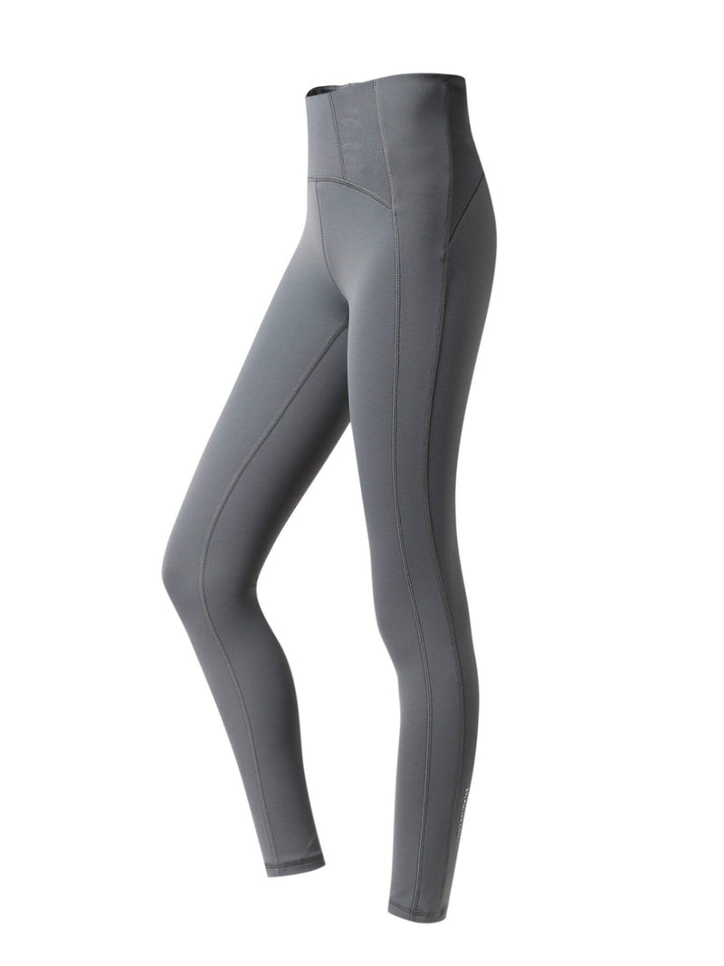 Sloli High Waist Hip Up Long Tights & Yoga Leggings XS / Gray