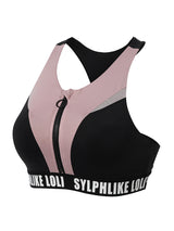 Sloli Color Mix Stylish Sports Bra XS / Black&Pink