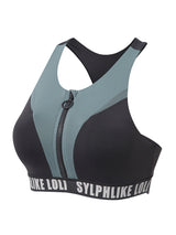 Sloli Color Mix Stylish Sports Bra XS / Blue&Green