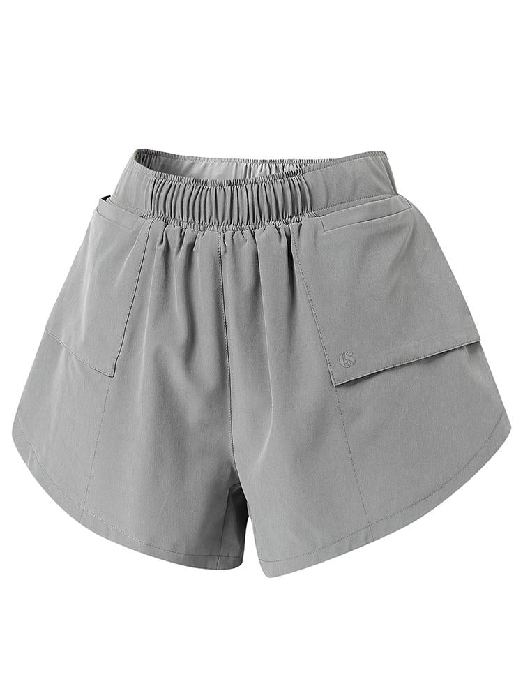 Sloli Casual Running Shorts with Pocket XS / Gray