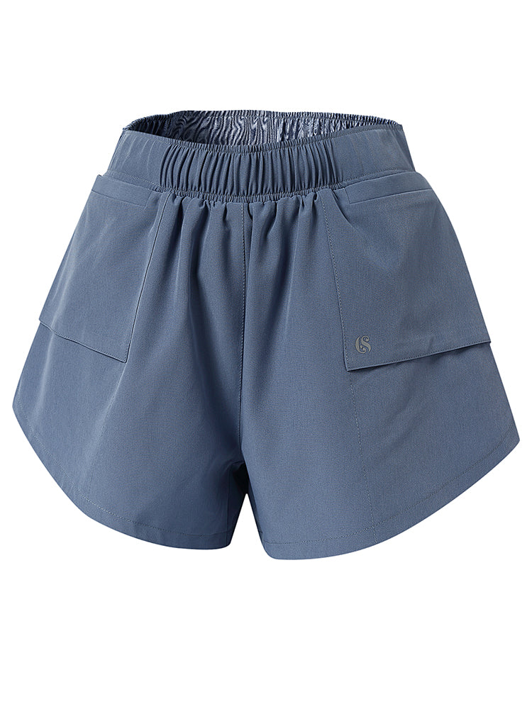 Sloli Casual Running Shorts with Pocket XS / Blue